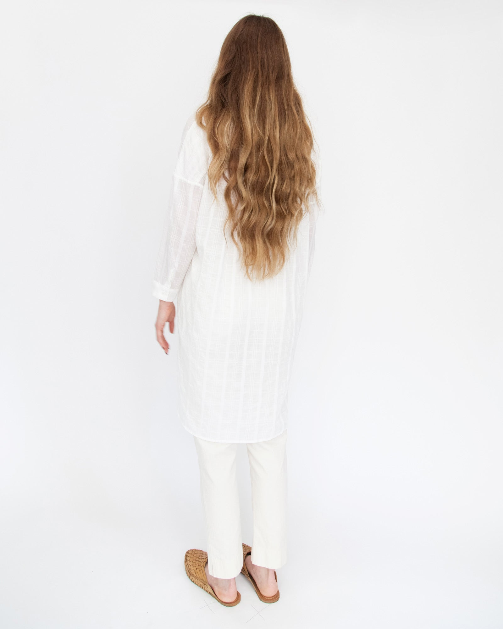 SARA BUTTON DOWN - WHITE
