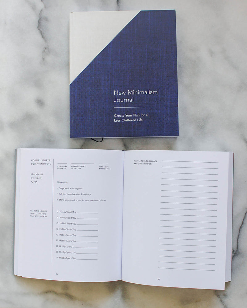 NEW MINIMALISM JOURNAL - BOOK
