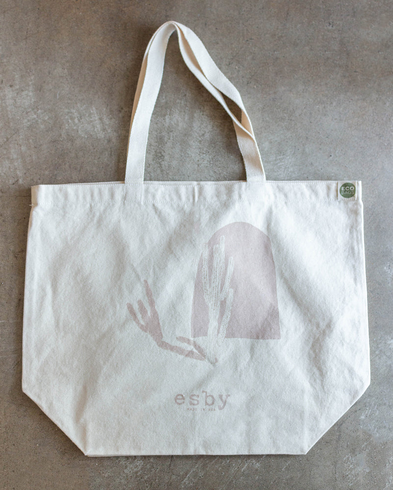 Load image into Gallery viewer, ESBY MARKET TOTE - DESERT ROSE