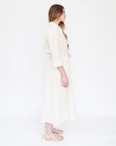 MABEL SHIRT DRESS - NATURAL