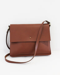 ESBY CROSSBODY - BROWN (PRE-ORDER)