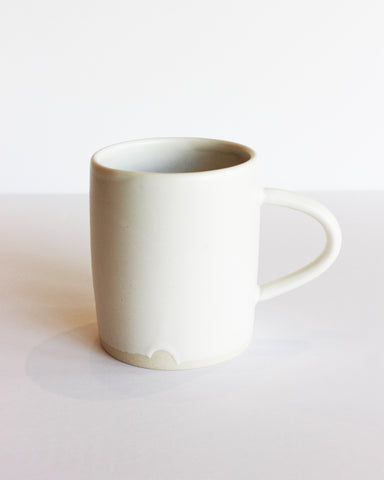 NOTARY CERAMICS - COFFEE MUG - SATIN WHITE