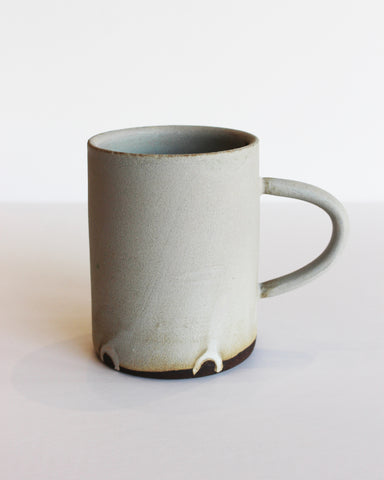 NOTARY CERAMICS - COFFEE MUG - MATTE GREY