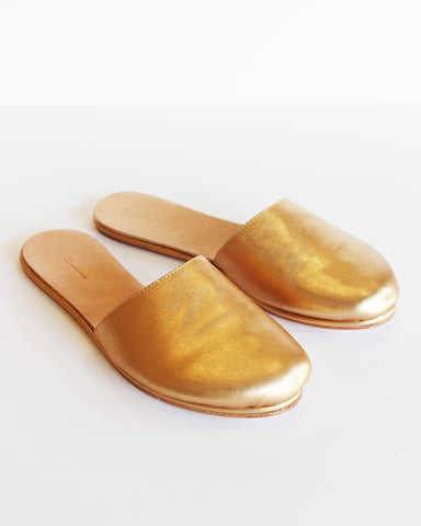 THE PALATINES - COGNITIO SLIDE SLIPPER - GOLDEN GLAZE
