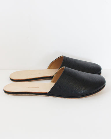 THE PALATINES - COGNITIO MULE - BLACK LEATHER