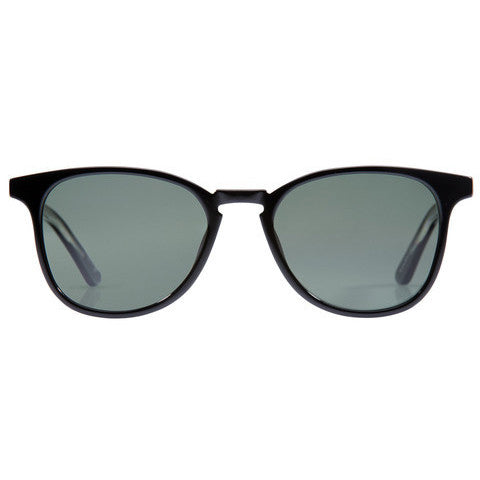 Krewe Du Optic - Olivier - Black + Clear Polarized