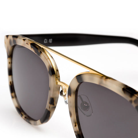 Krewe Du Optic - CL-10 - Oyster + Black 24K