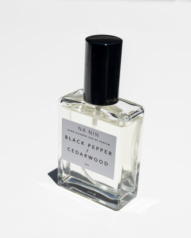 NA NIN - BLACK PEPPER/CEDARWOOD EAU DE PARFUM - 2OZ
