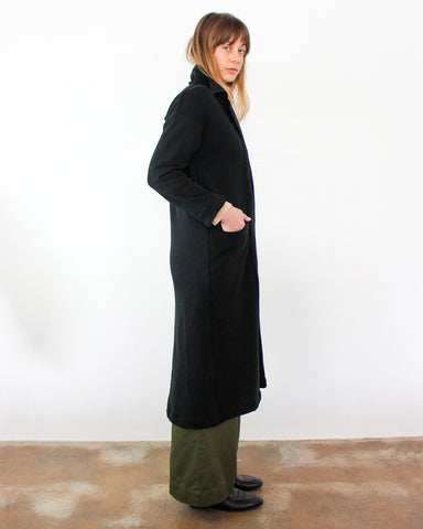 RAMONA KNIT DUSTER - BLACK