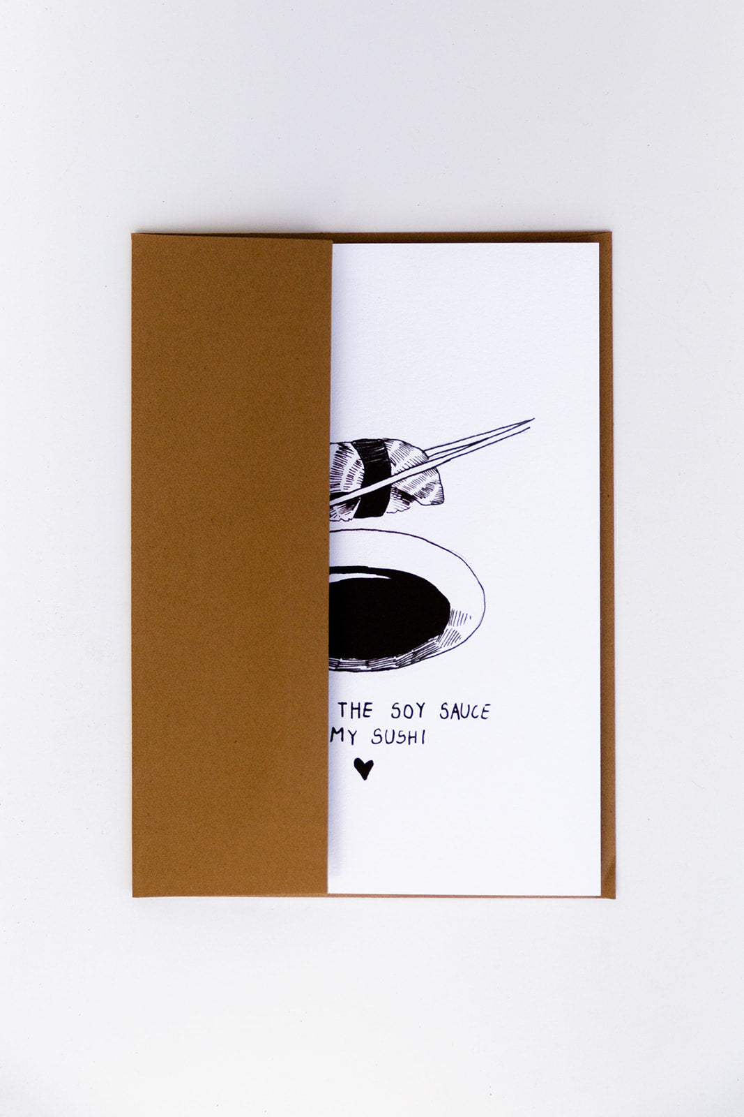 WUNDERKID CARDS - SOY SAUCE TO MY SUSHI