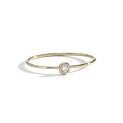 BLANCA MONROS GOMEZ- DIAMOND SEED RING WHITE DIAMOND