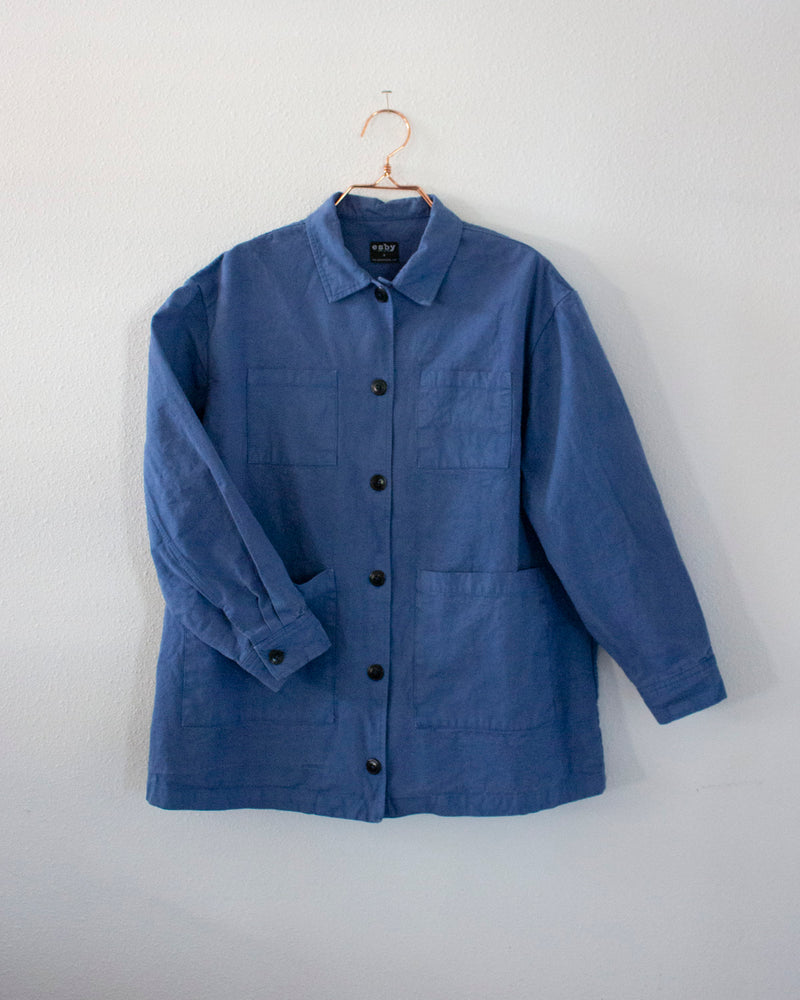SAMMIE WORKSHIRT - FRENCH BLUE