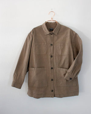 SAMMIE WORKSHIRT - MOSS