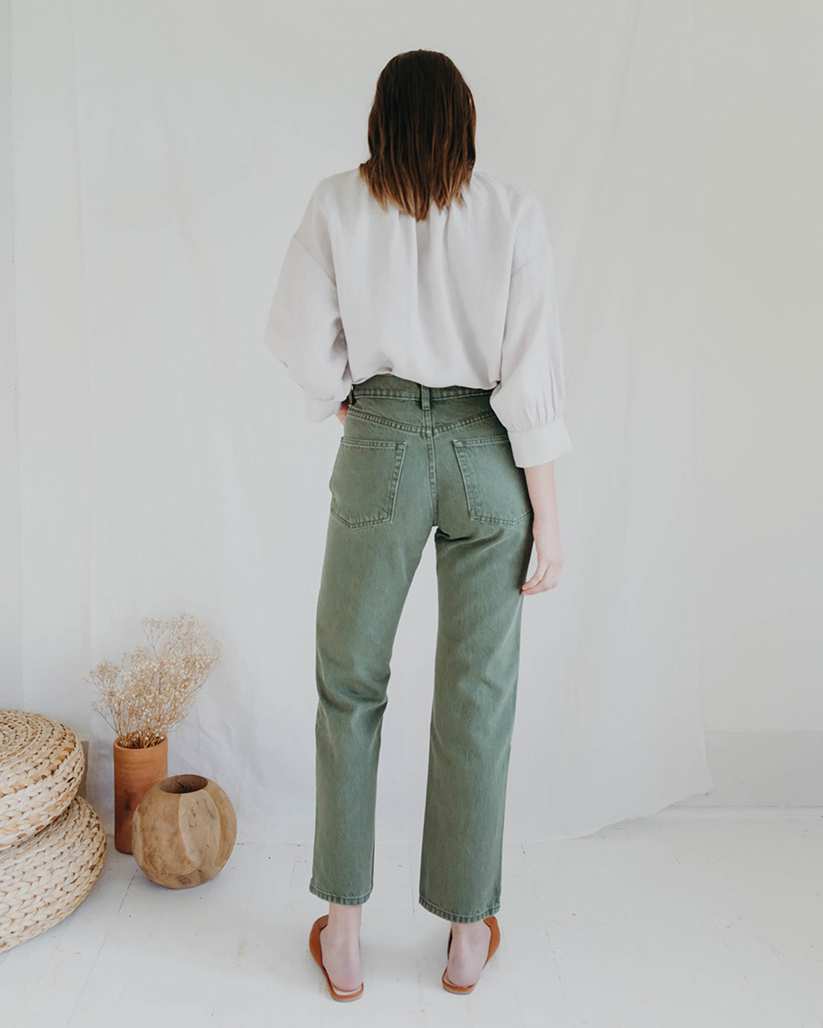 HAYLEY JEAN - WASHED OLIVE