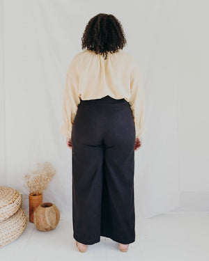 Load image into Gallery viewer, LUCIA PANT - BLACK