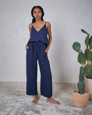 HARRIETTE TANK - INDIGO