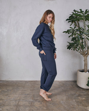 Load image into Gallery viewer, LUCA LEISURE PANT - MIDNIGHT