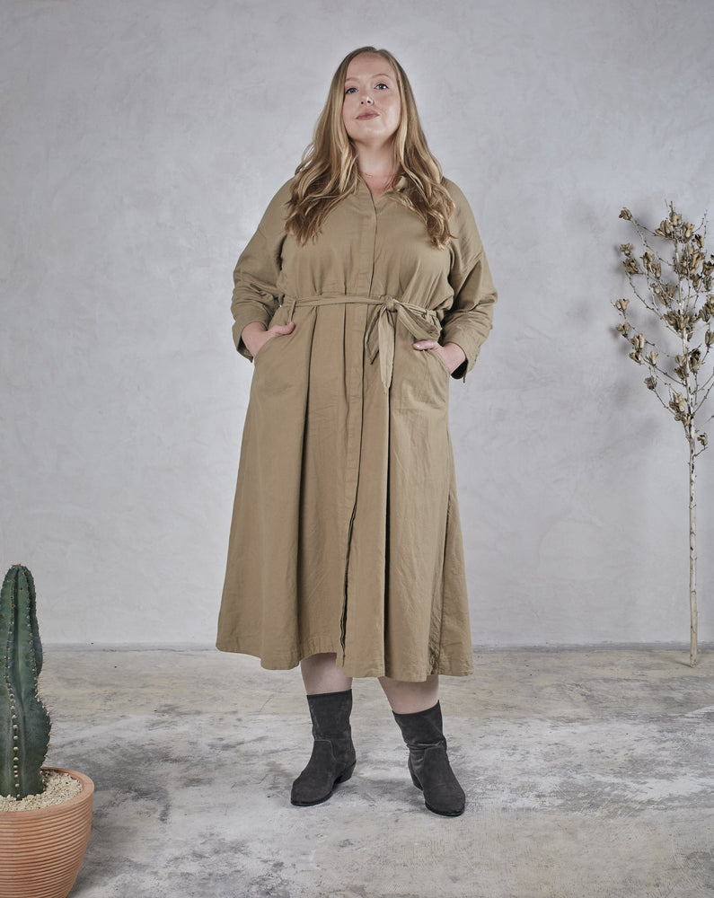 Load image into Gallery viewer, MABEL DRESS - EARTH