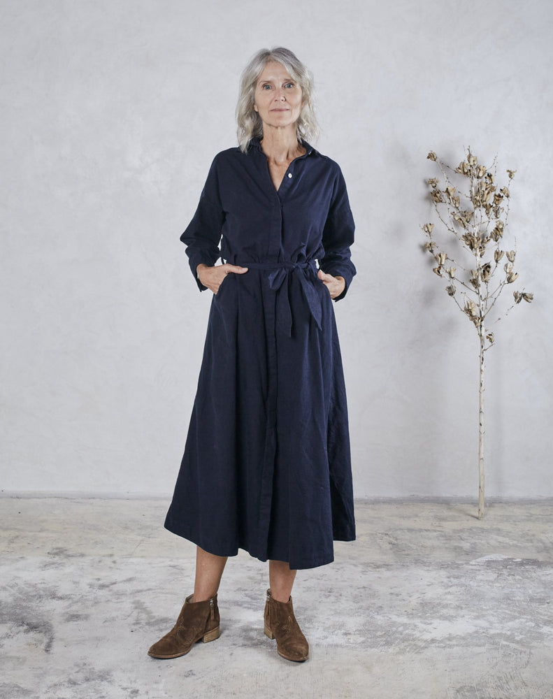 Load image into Gallery viewer, MABEL DRESS - MIDNIGHT