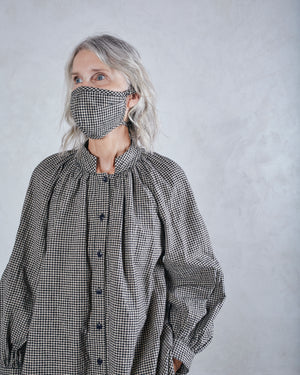 COLLECTION FACE MASK - CEDAR GINGHAM