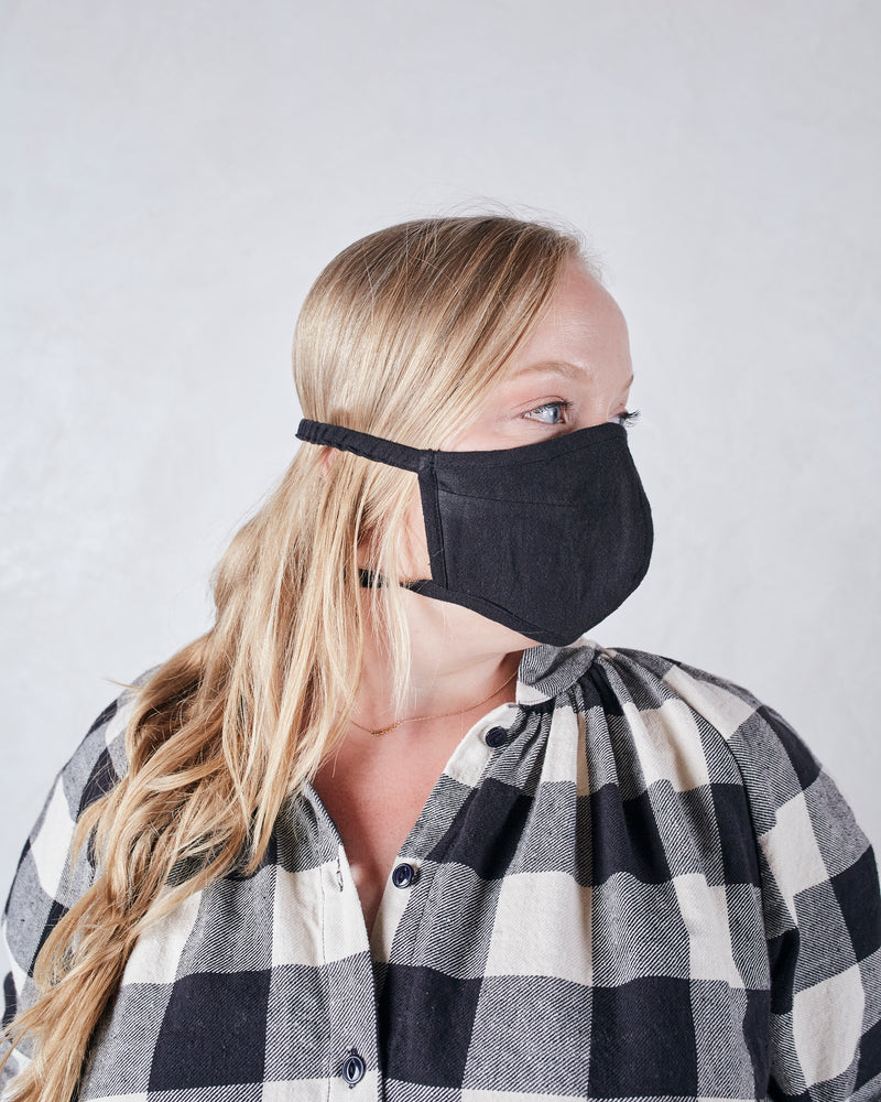 COLLECTION FACE MASK - BLACK