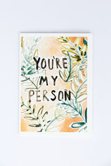 WUNDERKID CARDS - YOU'RE MY PERSON