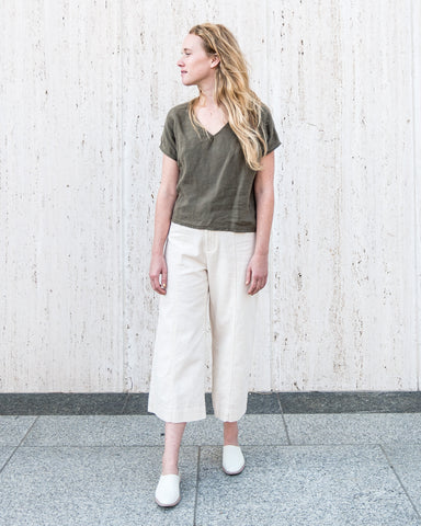 AVEY TOP - OLIVE