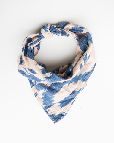 IKAT BANDANA - BLUSH/BLUE