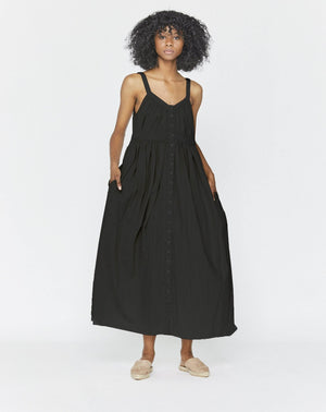 BELLE DRESS - WASHED BLACK