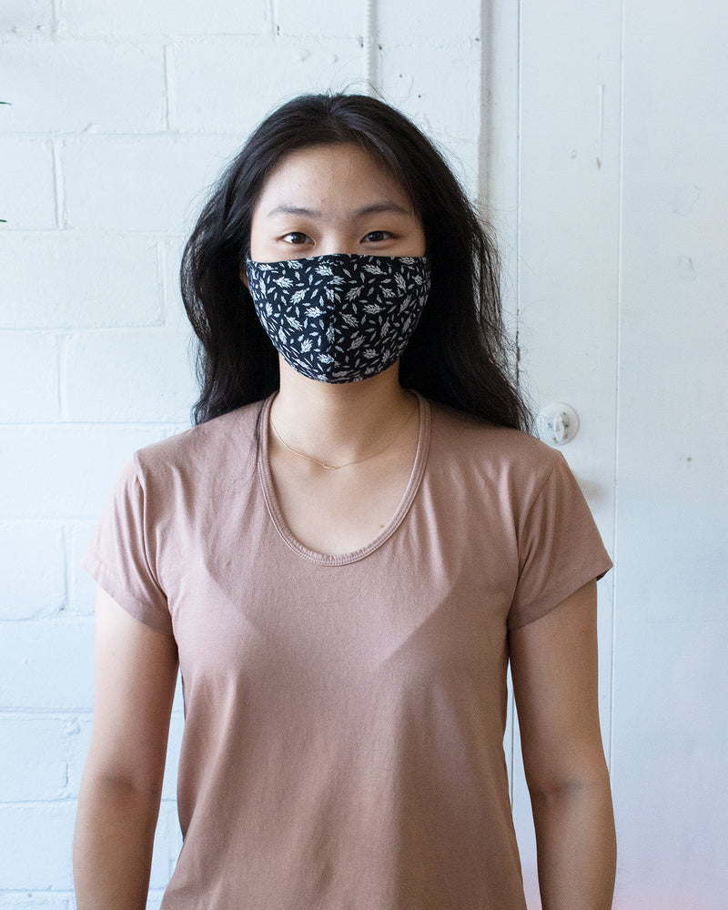 COLLECTION FACE MASK - BLACK RISTRA