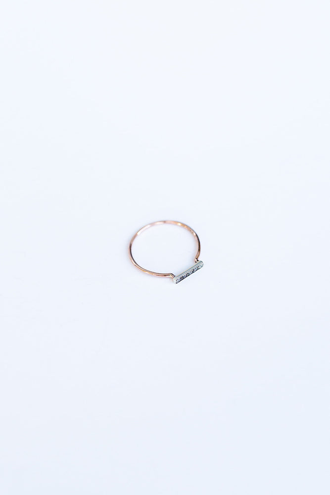 BLANCA MONROS GOMEZ - DAINTY STACKING RING - STERLING SILVER