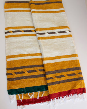NIPOMO + ESBY RECYCLED BLANKET - GOLDEN STRIPE