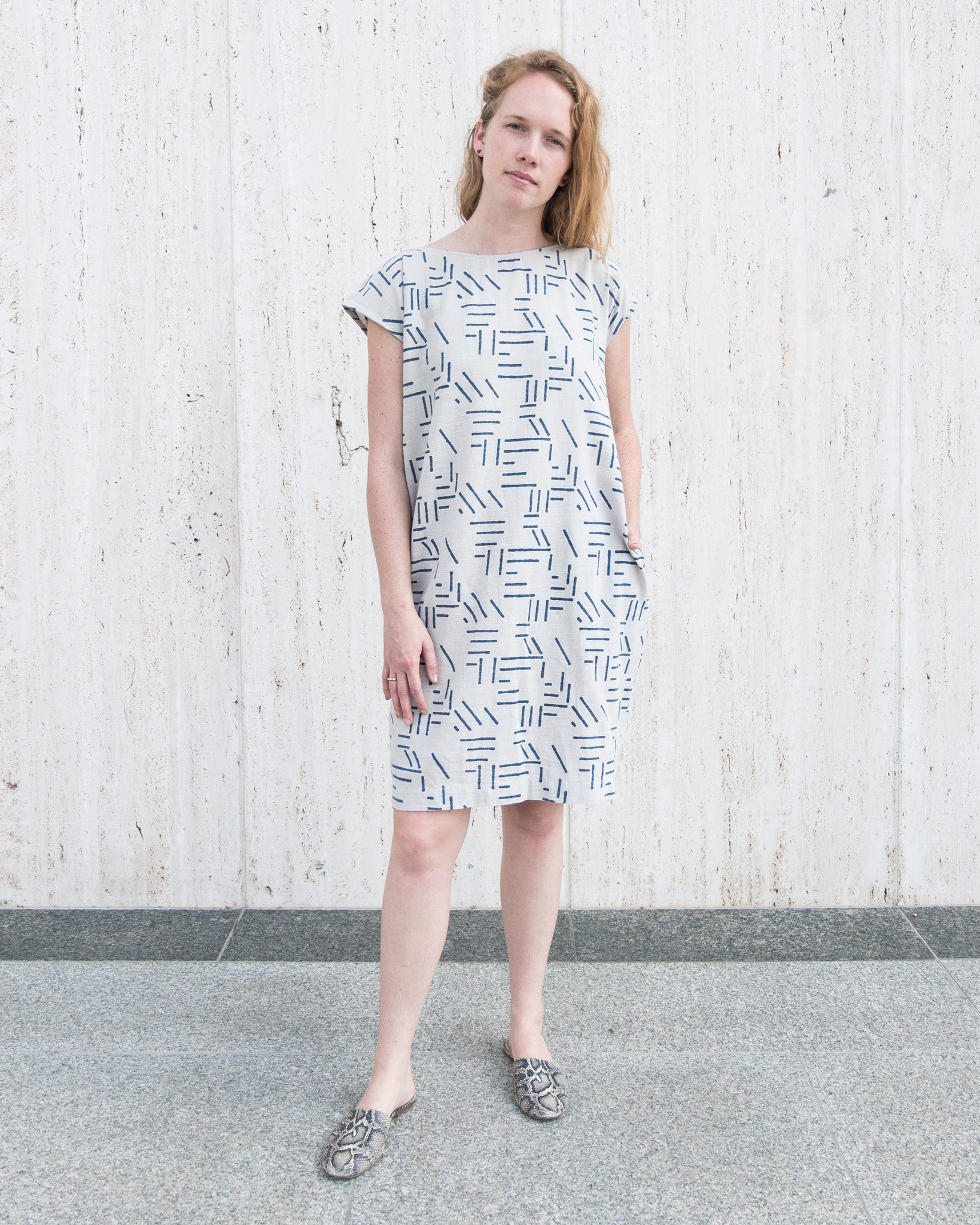 CAROLINE SHIFT DRESS - ESBY + SEEK COLLECTIVE