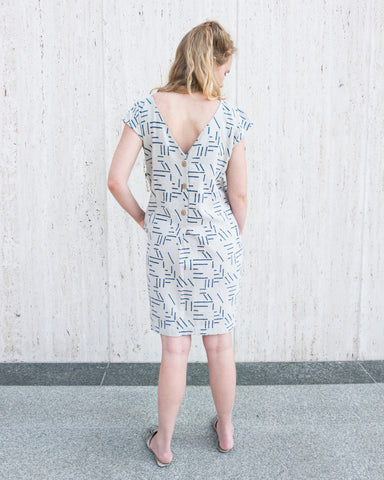 ESBY + SEEK COLLECTIVE - CAROLINE SHIFT DRESS