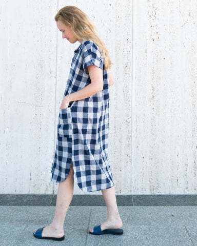 DARBY SHIRT DRESS - PLAID