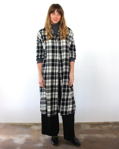 DARCY SHIRT DRESS - PLAID