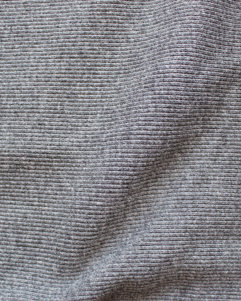 grey japanese cotton rib