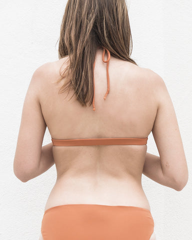 SASHA HALTER TOP - CARROT