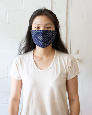 COLLECTION FACE MASK - INDIGO GEM
