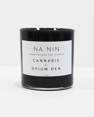 NA NIN - CANNABIS / OPIUM DEN DOUBLE WICK CANDLE