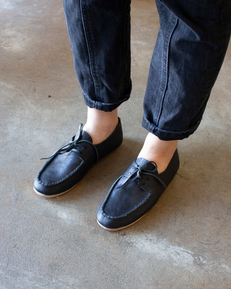 TAKA SHOES - MOCCASIN - BLACK