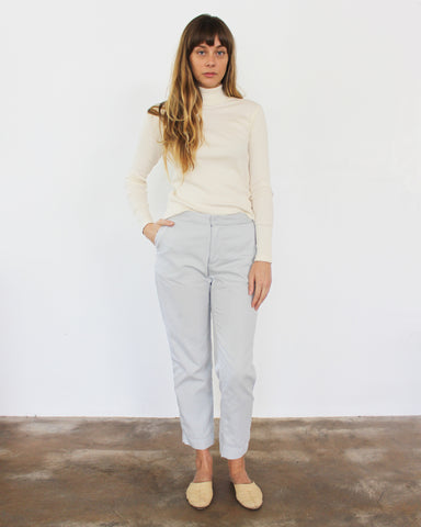 SAM RELAXED PANT - SKY GREY