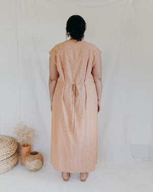Load image into Gallery viewer, WINNIE DRESS - VINTAGE BRICK