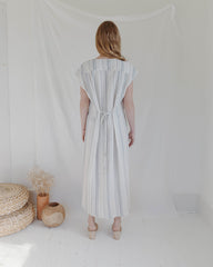 WINNIE DRESS - RIVIERA STRIPE