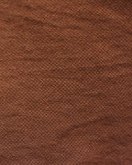 brown cotton twill