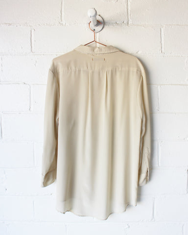IDA SILK TOP - CREAM