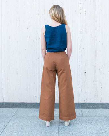 VAL TWILL PANT - CLAY