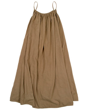 VIVIENNE DRESS - PECAN - PREORDER
