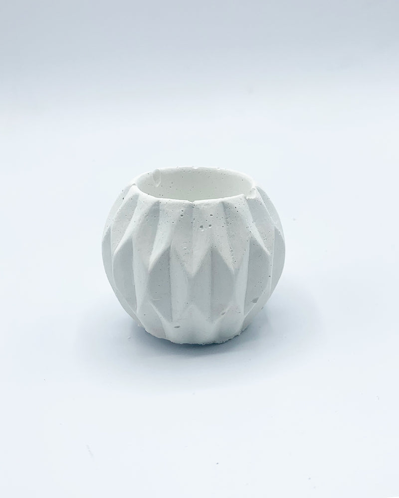 AWKWARD AUNTIE - MINI PLANTER -  WHITE