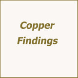 Jewellery Making Copper Findings